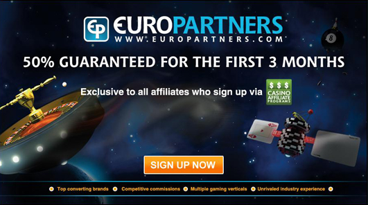 Special 50% Revshare Offer from Euro Partners